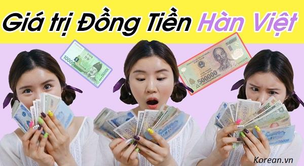 Tỷ giá đồng Won- VNĐ tại Việt Nam mới nhất